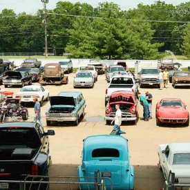 Swap Meet Car Corral Photo – 2
